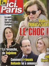 ICI PARIS N° 3576--TRIERWEILER LE CHOC/REVANCHE DE SEGOLENE/JULIE GAYET