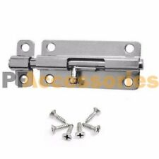"3"" inch Zinc Plated Gate Door Latch National Cabinet Security Barrel Bolts Lock"