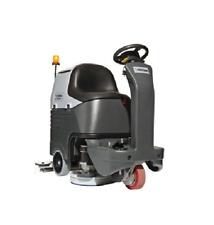 Nilfisk BR752 Aufsitz-Scheuersaugmaschine Reinigungsmaschine KOMPLETT FULL