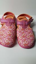 Stride rite  Surf Zone Pink Floral Girl Size 12M