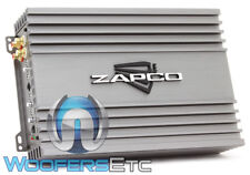 ZAPCO Z-150.2 II 2-CHANNEL 550W RMS COMPONENT SPEAKERS CLASS AB AMPLIFIER NEW