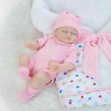 Baby Doll Newborn Toy Soft Vinyl Silicone Lifelike For Girl Kid Birthday Gift