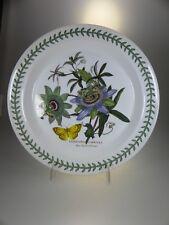 Portmeirion Botanic Garden Dinner Plate Blue Passion Flower (OLDER BACK STAMP)