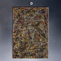 """Jackson Pollock """"Number 5"""" 1948, HD Print on canvas, For wall decoration, 20x40"""""""