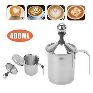 Manual Handheld Milk Frother Foamer Coffee Latte Hot Chocolate Milk Blender