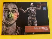 BEN SIMMONS 2016-17 Panini Aficionado Rookie Philadelphia 76ers LSU RC