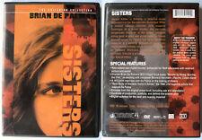 SISTERS BRIAN DE PALMA CRITERION COLLECTION REGION 1 NTSC DVD