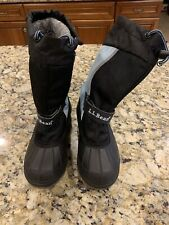 LL Bean Unisex Youth Snow Boats - Size 1