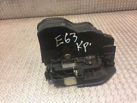 BMW DOOR LOCK LATCH 5 6 7 SERIES E60 E63 E65 Genuine Used LEFT SIDE OEM 7167073