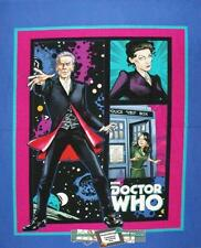 Patchwork Quilting Sewing Fabric DR WHO Quilt Cotton Large Panel 90x110cm New