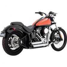 Exhaust shortshots staggered chrome - Vance & hines 17225