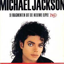 "7"" Michael Jackson – Bad / 9 Fragments From LP / PROMOTION PRO 419 // Dutch 1987"