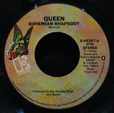 QUEEN~Bohemian Rhapsody & I'm In Love With My Car 45~ELEKTRA~Freddie Mercury
