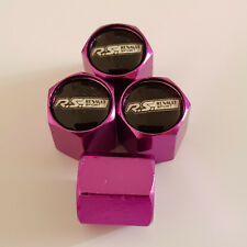 RENAULT RS SPORT PURPLE Wheel Valve Dust Caps EXCLUSIVE TO US ALL MODELS