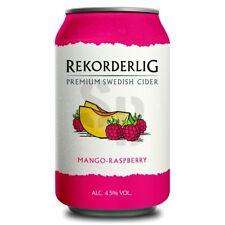 Rekorderlig Mango Raspberry Premium Cider 4,5% vol 24 x 33cl Tray