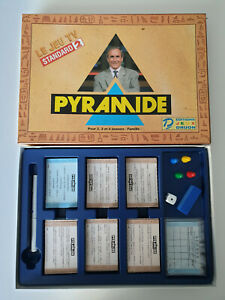 Jeu de plateau Pyramide - le Jeu TV France 2 -  Druon - Edition Standard