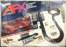 Aurora AFX 2708 Data Race Championship HO Scale Slot Car Race Set Extra Track