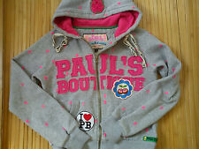 NICE PAULS BOUTIQUE LADIES WOMENS HOODIE SPORT SWEATER SIZE S OR 12/13 YRS (0.5)
