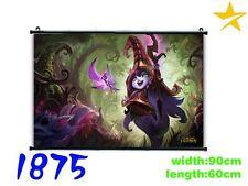Poster di tela Lulu Wallscroll LOL League of Legends SU RICHIESTA