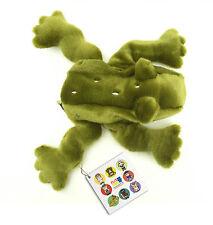 Flat Friends Green Tree Frog hand puppet