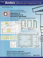 APERTURE E CERCHIATURE IN MURATURE PORTANTI  PUGI FRANCESCO ALINEA 2012