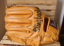 FRANKLIN~ SLINGBACK Buck Tanned Steer Hide Leather Baseball Softball Glove RHT