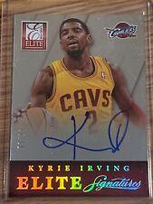 Kyrie Irving 13-14 Panini Elite Signatures Auto Card /99 Cleveland Cavaliers NBA