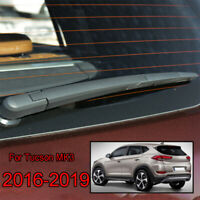 Windscreen Wiper Arm Blade Rear Window Set For Hyundai Tucson MK3 2016->