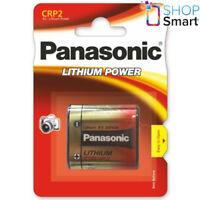 PANASONIC LITHIUM POWER 223 CR-P2 BATTERY 6V DL223 EL223AP EXP 2028 NEW