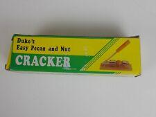 Dukes Pecan and Nut CRACKER  Easy adjustable cracks all med nuts