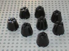 8 x LEGO star wars black cone ref 6233 /set 6339 10213 10129 7150 7656 7674 7152