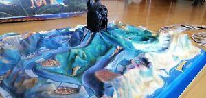 Fireball Island (L'Isola di Fuoco) - Plancia di gioco, carte e pedine