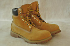 Timberland AF 6 Inch Premium Boots Wheat Nubuck Men's 8 M 10061 100%