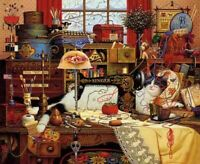 Charles Wysocki Maggie The Messmaker Limited Edition Print 1996