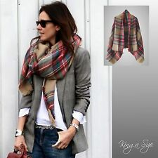 XXL Winter Tuch * Schultertuch Plaid - Blanket Bloggers Scarf Cloth - DF 5