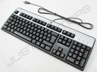 New Genuine Original HP French Francais USB Wired Computer Keyboard Clavier