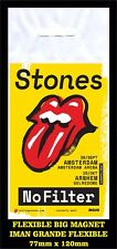 ROLLING STONES AMSTERDAM NO FILTER  TOUR FLEXIBLE BIG MAGNET IMAN GRANDE 0190