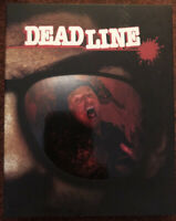 Deadline Blu Ray With Limited Slipcover Vinegar Syndrome Like New