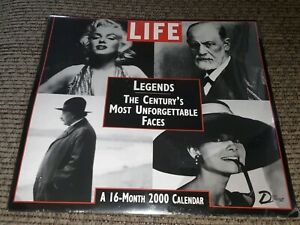 2000 Life magazine Wall 16 month Calendar FACTORY SEALED BRAND NEW OLD STOCK