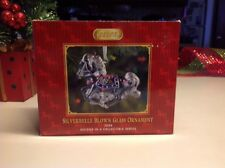 Breyer SilverBelle Blown Glass Christmas Ornament (2008) #700668