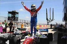 Oliver Rowland SIGNED Fortec Motorsport Victory , Formula Renault 3.5  2014