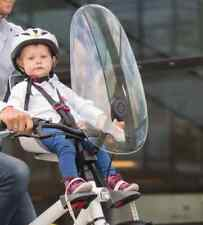 PARABREZZA per Hamax accarezzare Bici Seggiolino OSSERVATORE PROTEZIONE SCUDO finestra