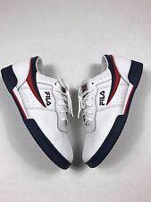Vintage FILA Original White Low Casual Retro  Shoes Men's Size 10