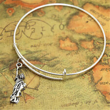 Statue of Liberty bracelet Statue of Liberty Charm bangles adjustable New York