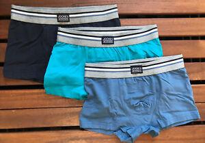 Jockey Men's USA Originals Short Trunk (3 Pack) - Small - 17302913-467