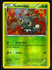 Pokemon SCATTERBUG 13/162 - XY BREAKthrough - Rev Holo - MINT