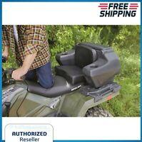 ATV Seat Backrest Storage 4 Wheeler Locking Padded Waterproof Rear Hatch Chair