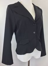 Wrapper Womens Size 13 Blazer Black Long Sleeve