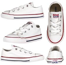 Converse Chuck Taylor All Star Infants Trainers Kids UK 8 White