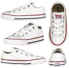 0ee74bef1907 Converse Chuck Taylor All Star Ox Infant Kids Trainer - White UK 6   EUR 22